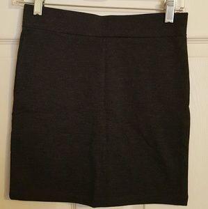 Black Forever 21 Bodicon Mini Skirt
